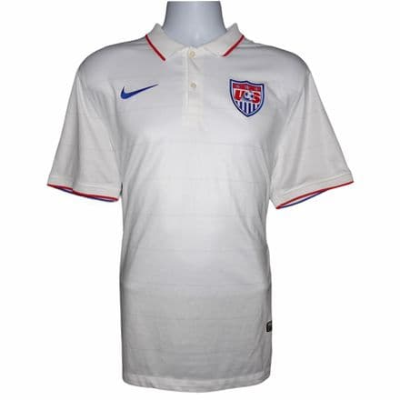 2014-2015 USA Home Football Shirt Nike Large (Mint Condition)